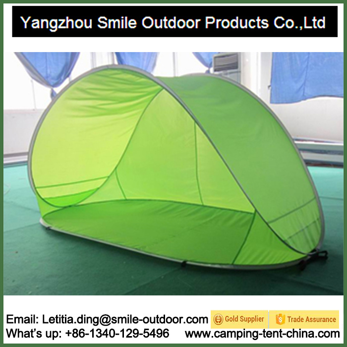 China Shelter Sun Protection Shade Pop up Beach 1 Man Tent - China Tent Beach Tent  sc 1 st  Yangzhou Smile Outdoor Products Co. Ltd. & China Shelter Sun Protection Shade Pop up Beach 1 Man Tent - China ...