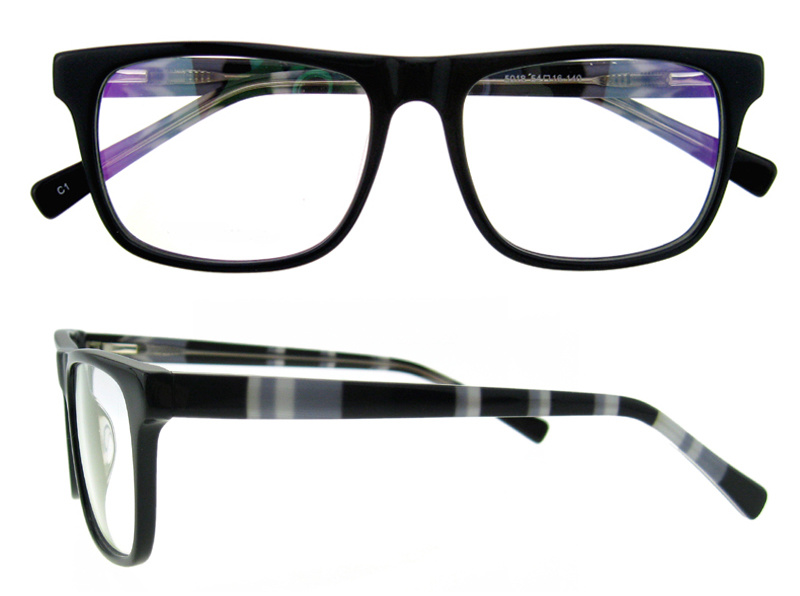 Fashion Wholesale Eyewear Optic Frame Fashion Naked Glasses Handmade Acetate Frame pictures & photos