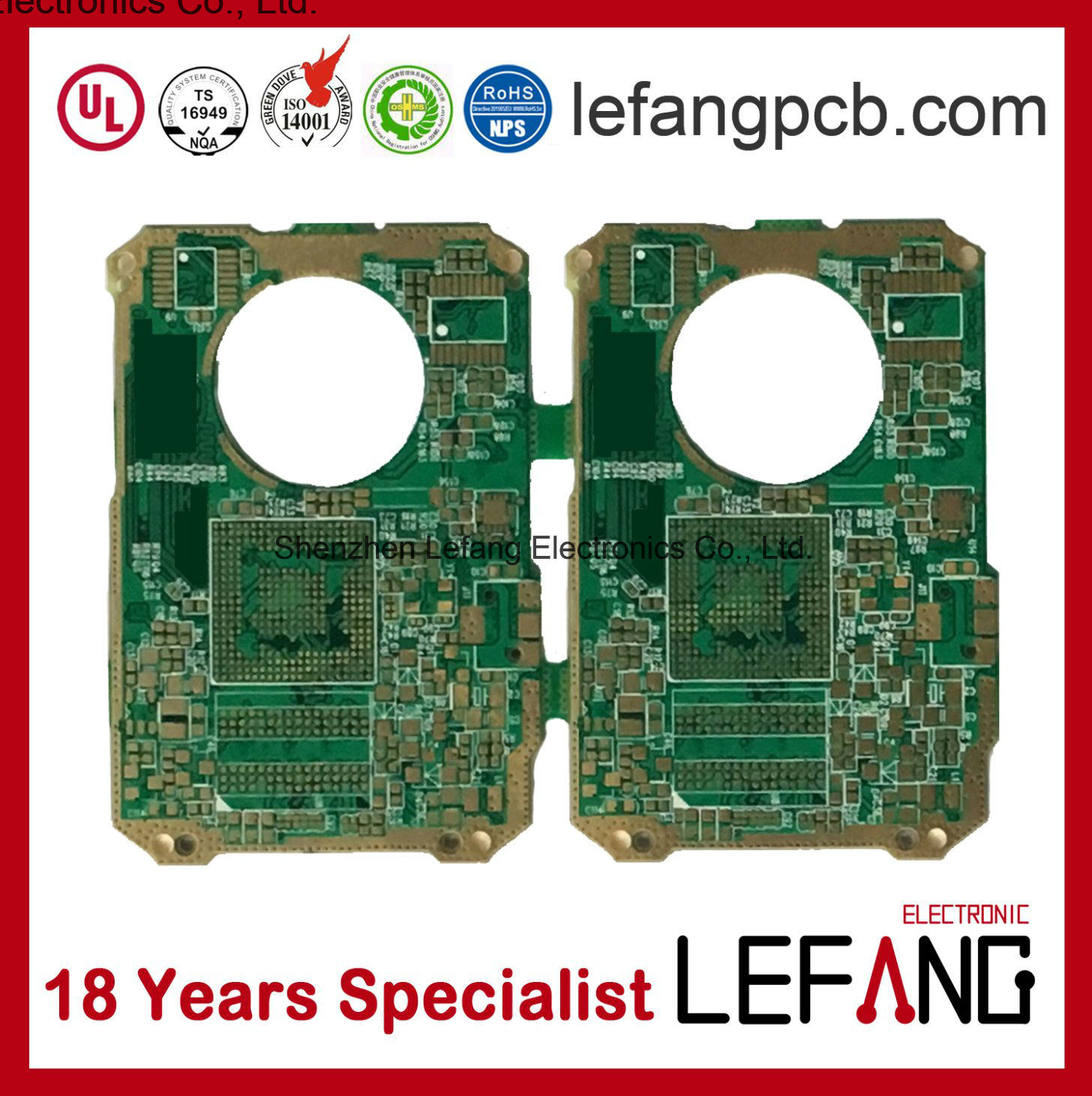 Wholesale Pcb Manufacturer Buy Reliable From Shenzhen Oem Electronic Printed Circuit Board Manufacturerpcb Rogers Enig For Electronics Power