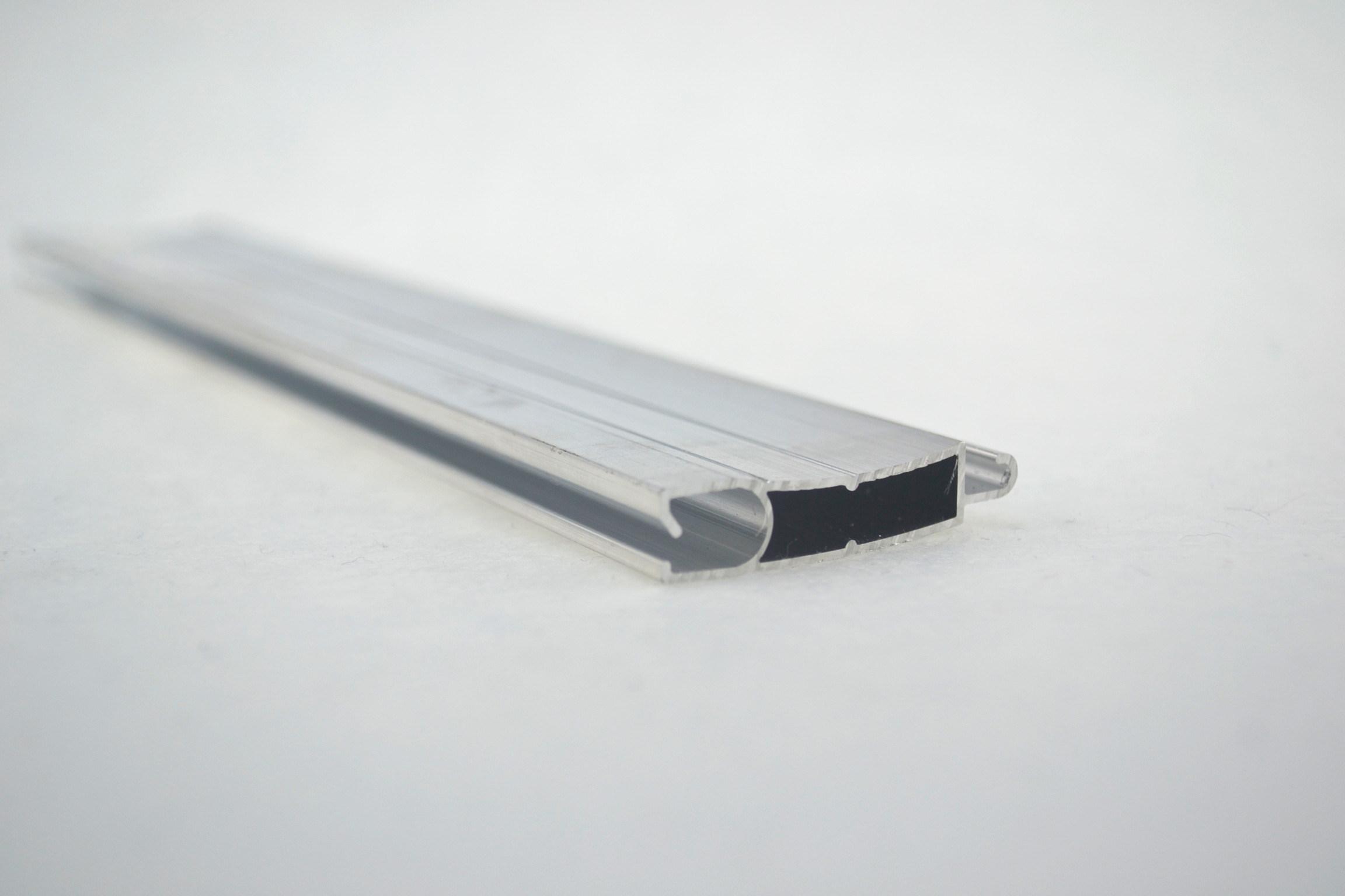 White Aluminium Panel : China aluminium panel track for electronic blind china curtain