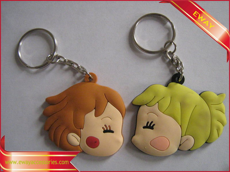 Rubber Keychain Logo PVC Promotional Keychain pictures & photos