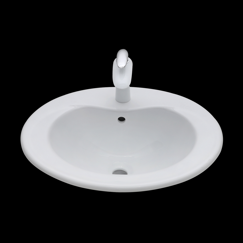 China Amc101 Bathroom Vessel Washing Sanitary Ware White Above