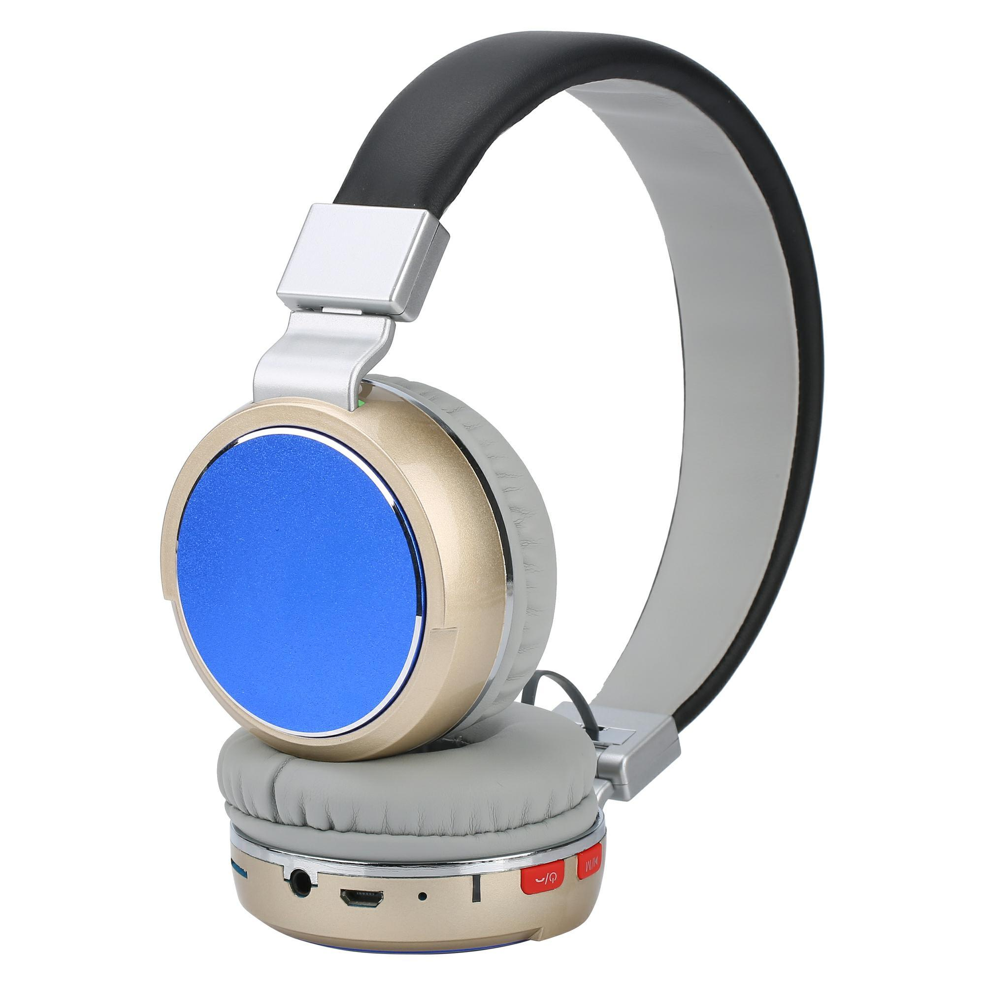 Wholesale Bluetooth Headphone/Microphone with FM Radio&TF Card Player pictures & photos