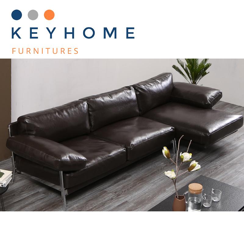 [Hot Item] Wholesale Factory Pricen Corner Sofa Leather Sofa Set