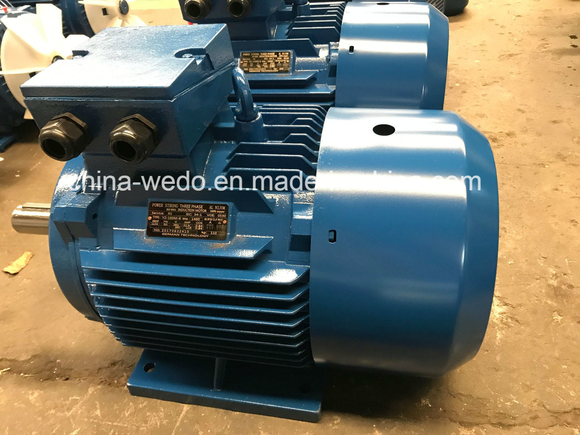 China Y2 Electric Motor with 100% Copper Wire, 2 Pole Photos ...