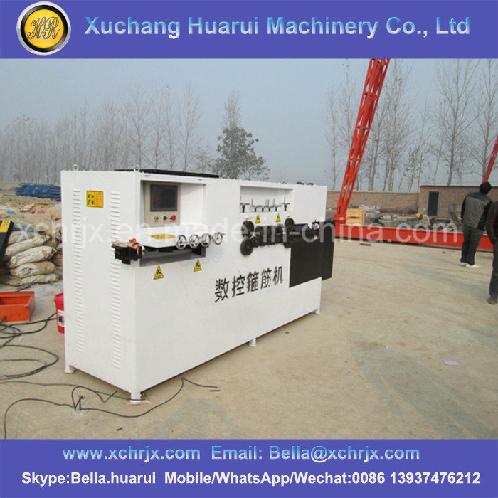 Use for 4-12mm Bender Automatic CNC Rebar Stirrup Bending Machine