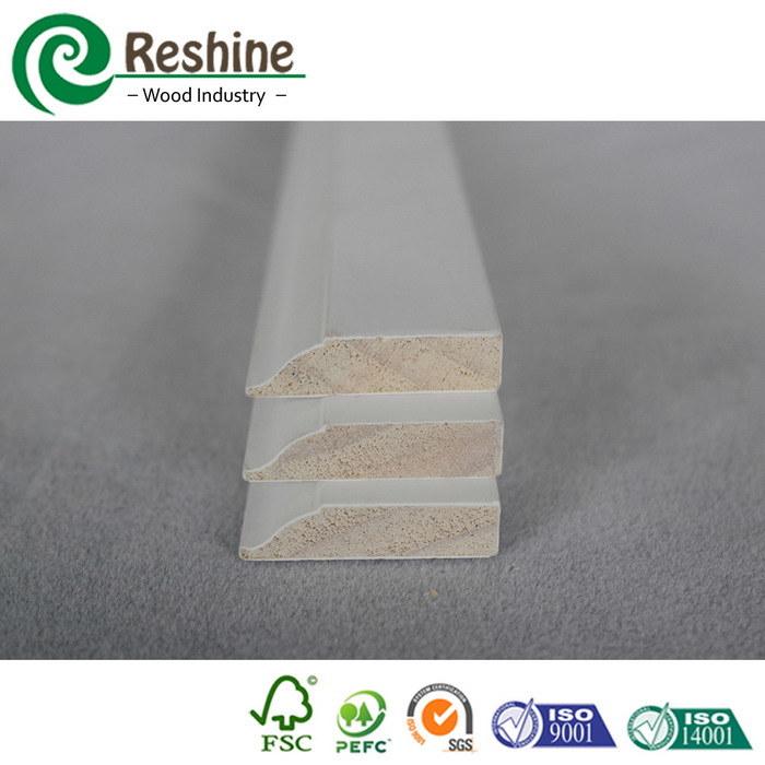 China Primed Decorative Casing Wood Trim Interior Door Stop
