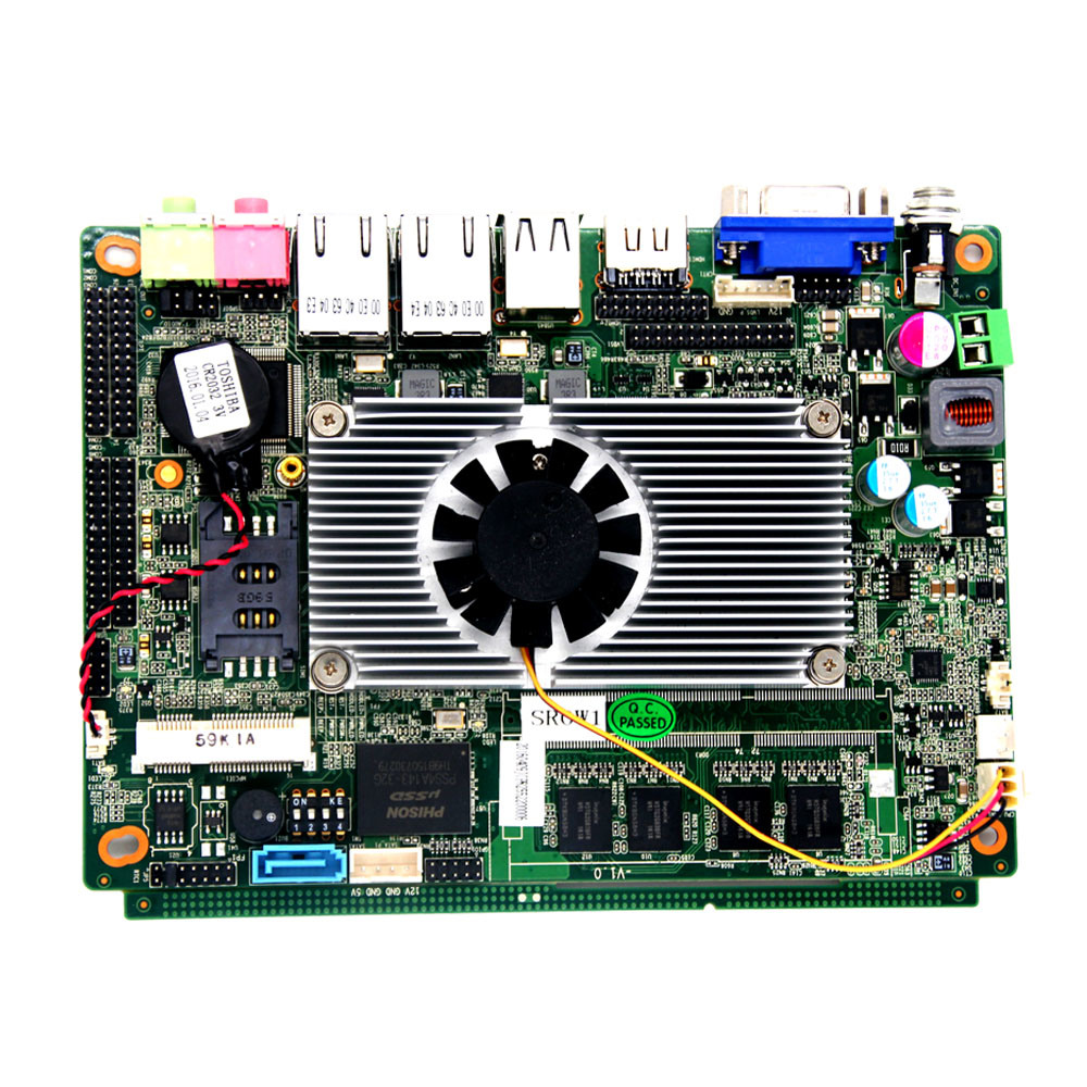 9V DC Integrade Graphics Mainboard with Intel D2550 CPU