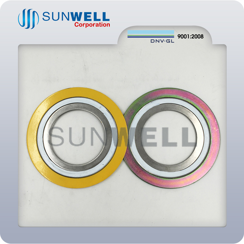 Spiral Wound Gasket with Outer Ring and Inner Ring