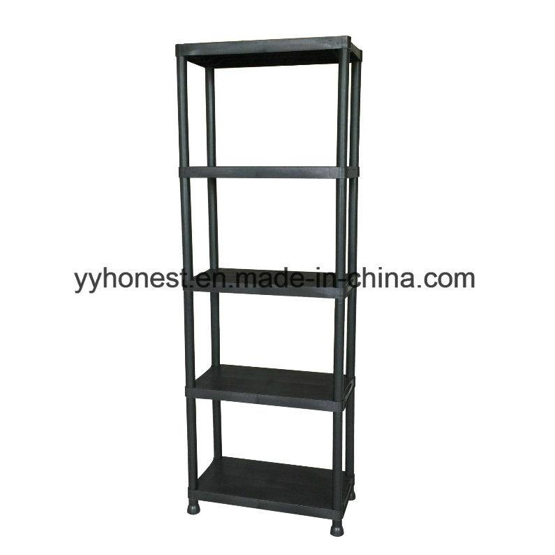 china garage storage adjustable height assembly industrial plastic rh yyhonest en made in china com Walmart Plastic Shelving Units Adjustable 3 Tier Plastic Shelving