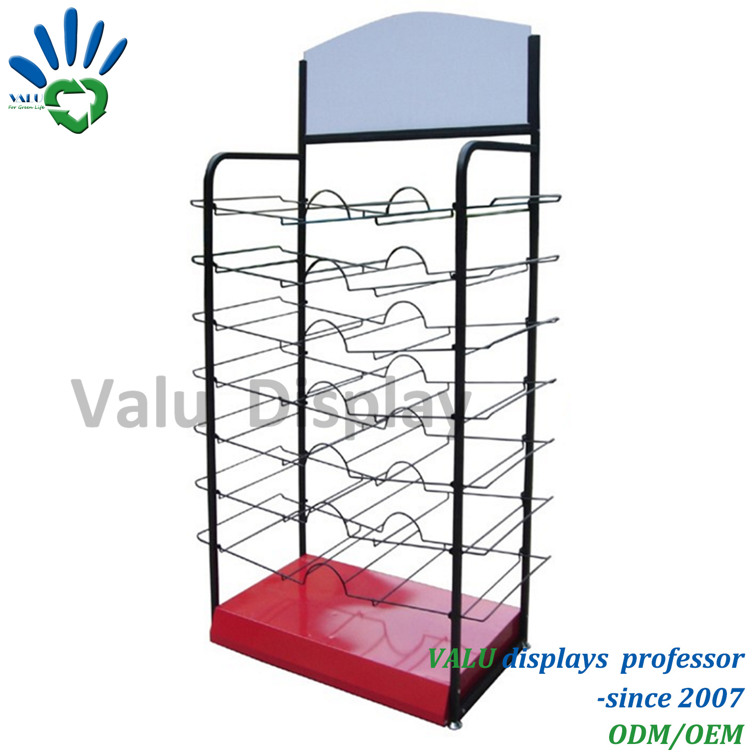 China Metal Wire Assemble Stand Tools Exhibition Display Rack for ...
