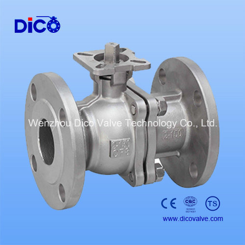 ANSI 150lb Two Pieces Flange Ball Valve