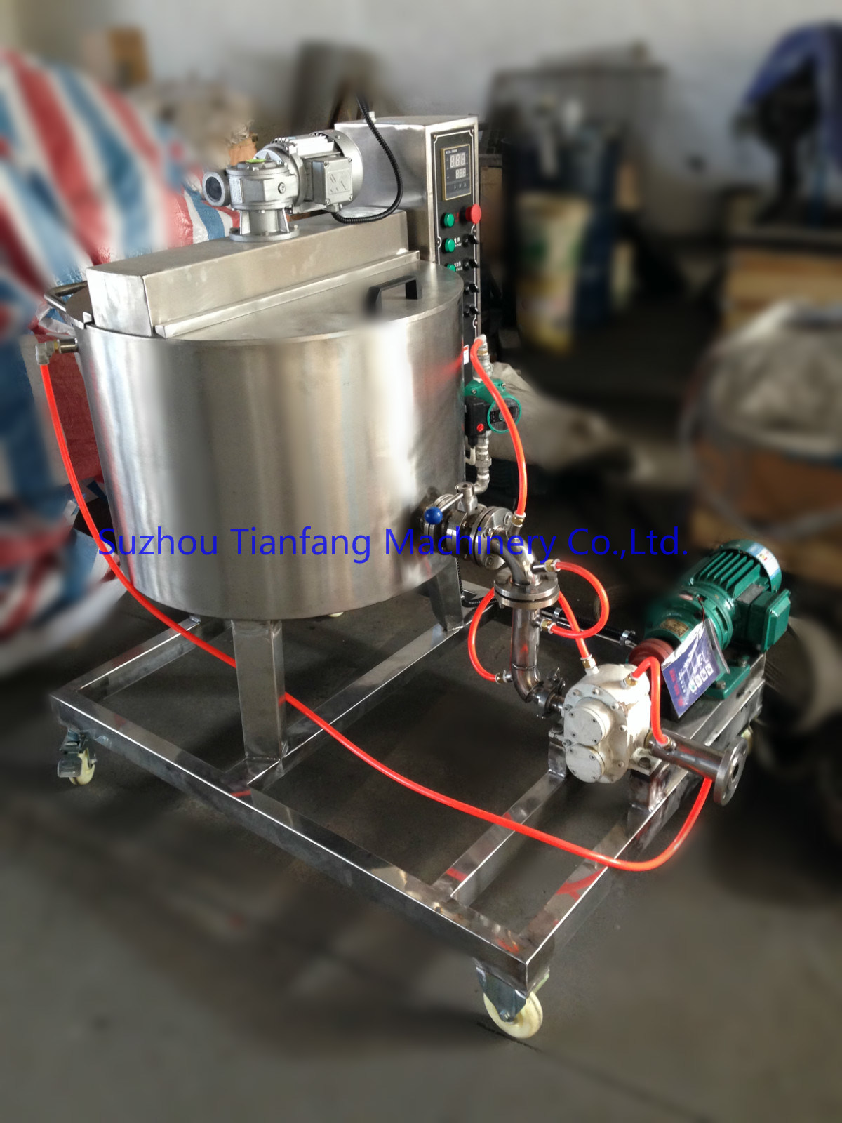Paste Feeding Pump (TSJB25) pictures & photos