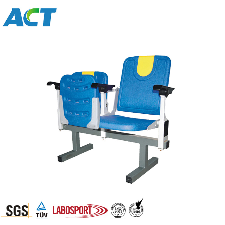Cool Hot Item Full Backrest Folding Stadium Chair With Armrest For Indoor And Outdoor Ibusinesslaw Wood Chair Design Ideas Ibusinesslaworg
