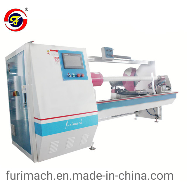 Adhesive Tape Roll Cutting Machine/Foam Tape Slitting Machine pictures & photos