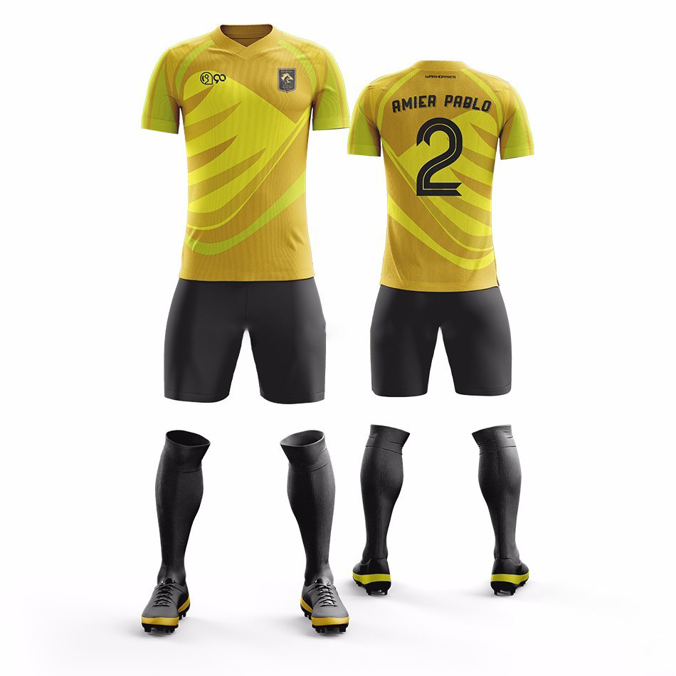 China Whoesale Custom Sublimation Print Football Kit Soccer Jersey China Soccer Jersey And Football Shirt Price