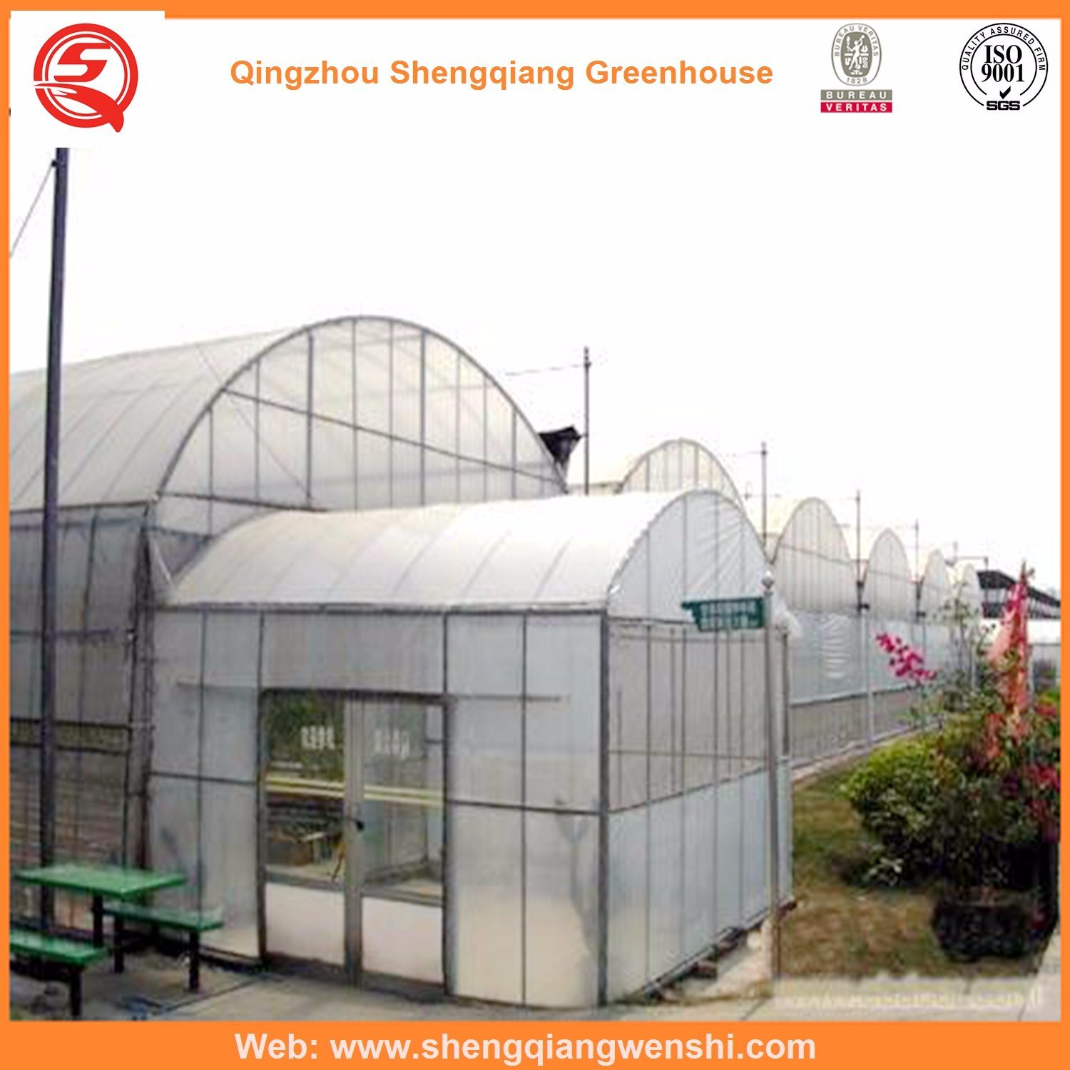 Agriculture Multi Span Plastic Greenhouse for Vegetables pictures & photos