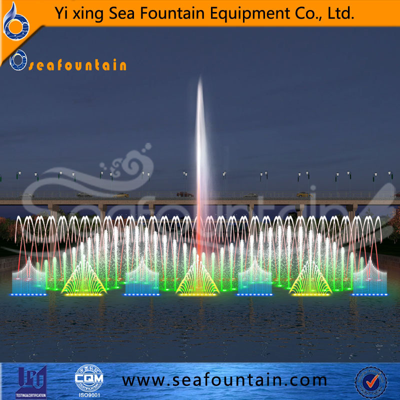 LED Light Decorative Stainless Steel Lake Floating Fountain pictures & photos