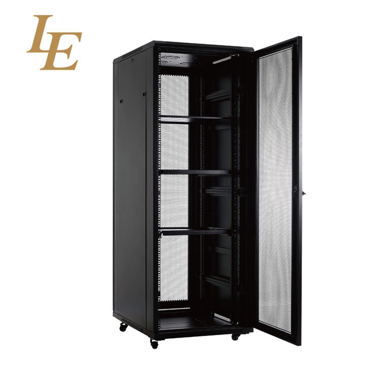Small Home Locking Network Cabinet