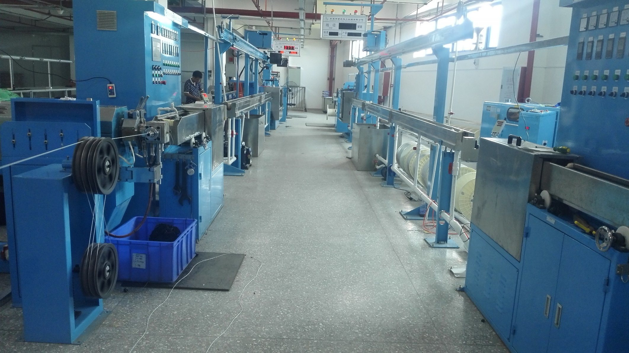 China 70-120mm PVC Insulation Copper Wire Extruder Machine - China ...