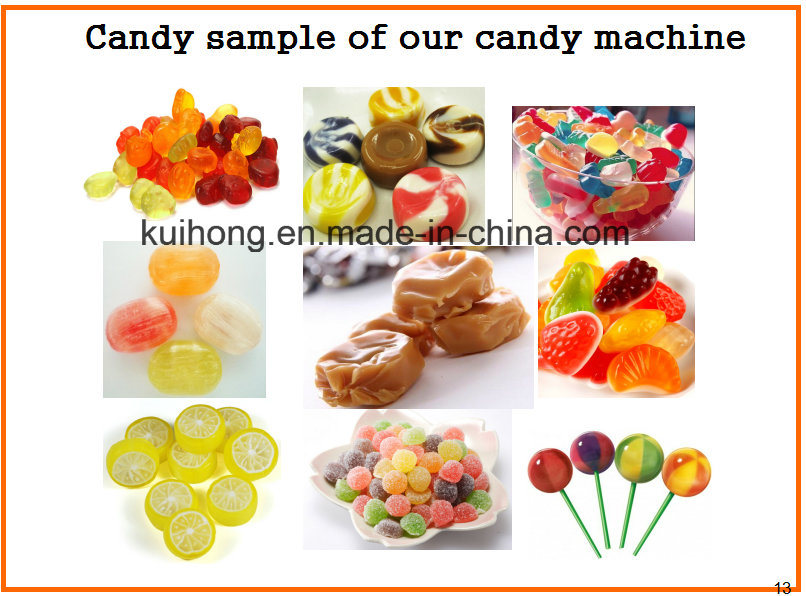 Kh 150 Jelly Candy Production Line Equipments
