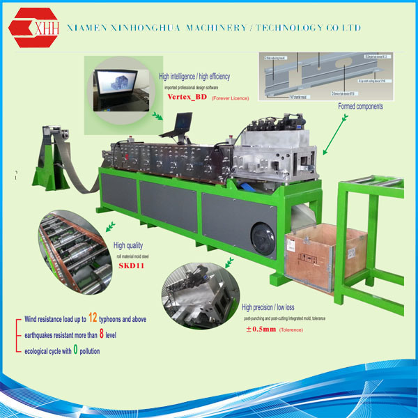 China Market Popular Light Gauge Steel Framing Machine - China ...