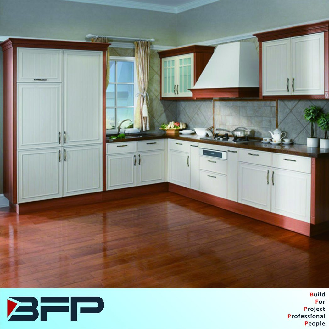 Material For Kitchen Cabinet: China Building Material Home Furniture PVC Kitchen Cabinet