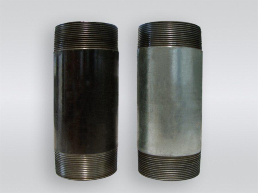 China Black Weld Steel Pipe Nipples China Steel Pipe