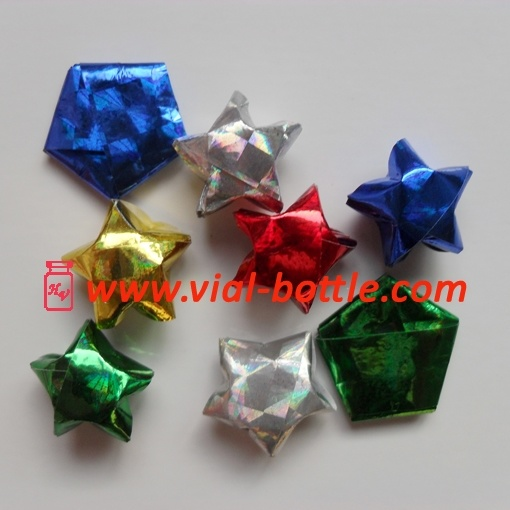 Lucky Wishing Stars Tutorial | PlanetJune by June Gilbank: Blog | 510x510