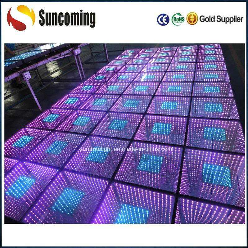 Magic LED 50*50cm LED Infinite 3D Dance Floor