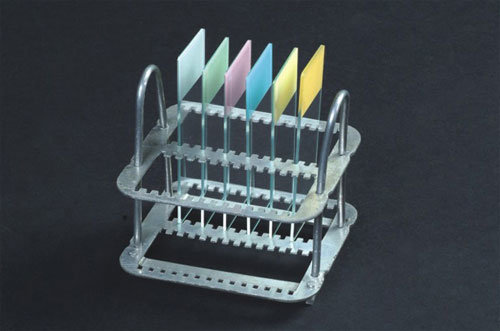 High Quality Microscope Slides Staining Racks with CE&ISO