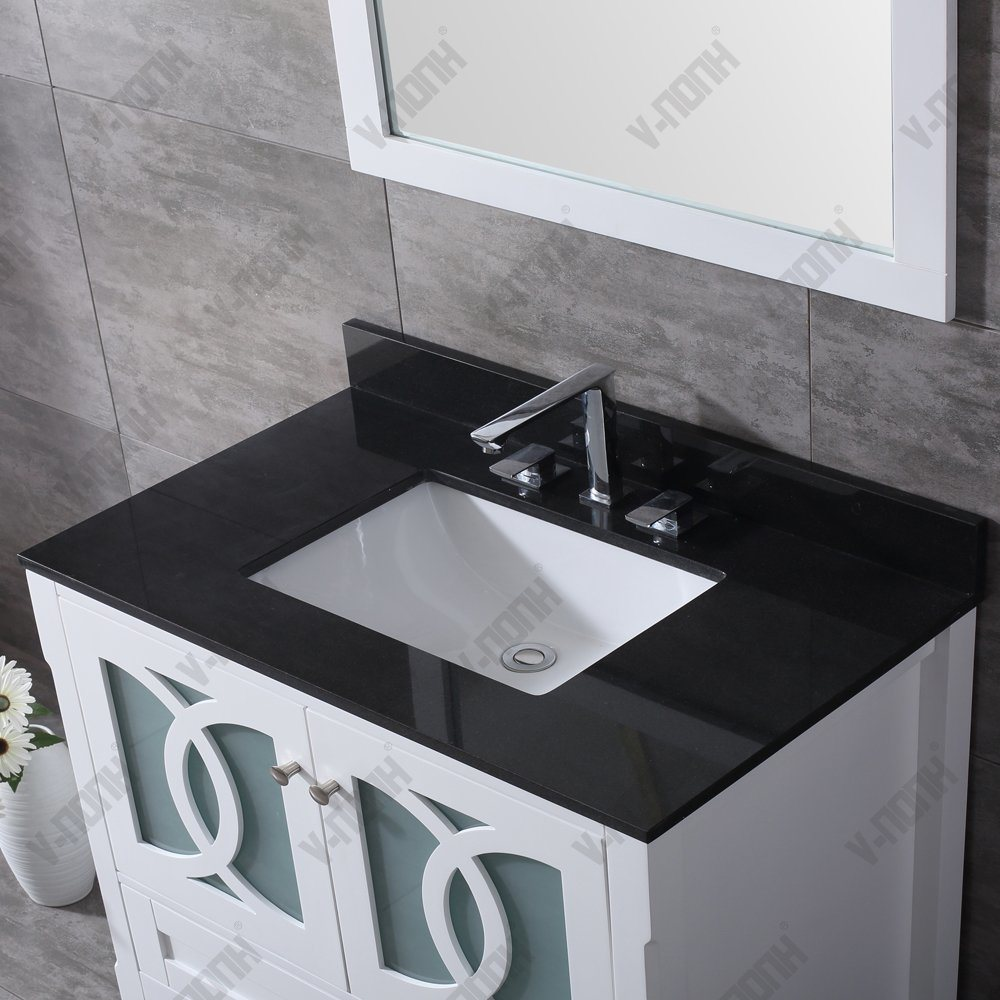 China Top Quality 36 Inch Granite Top Modern Bathroom Vanity Photos Pictures Made In China Com