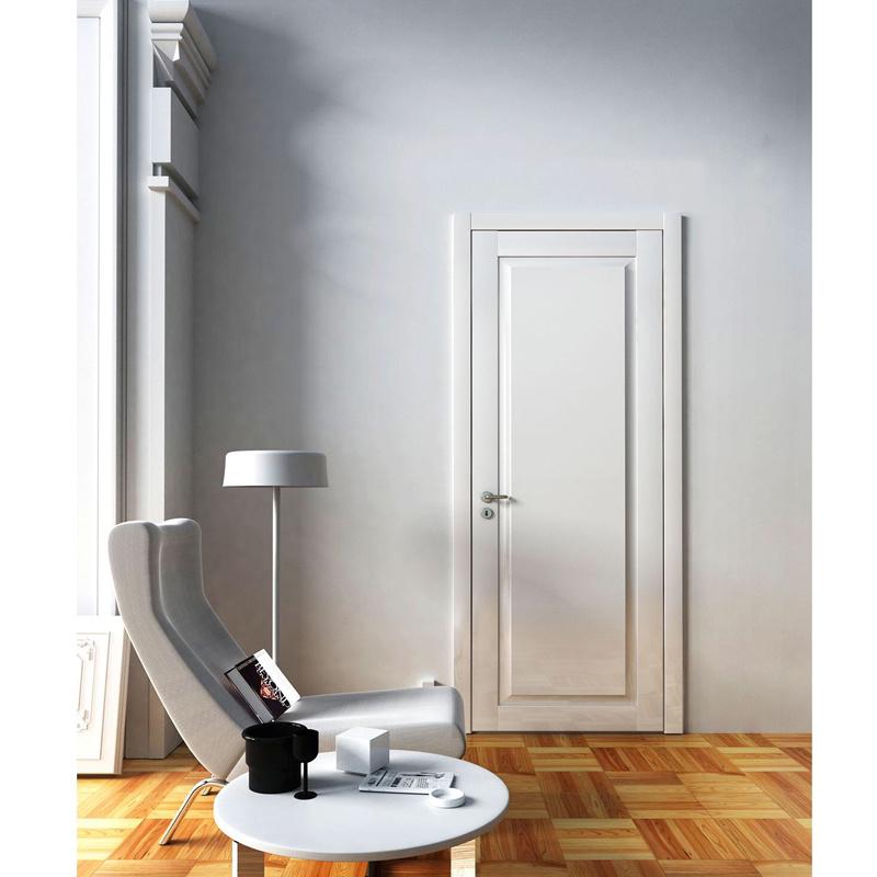 China Modern Latest Design White Wooden Interior Bedroom Door China Wood Door Wooden Door