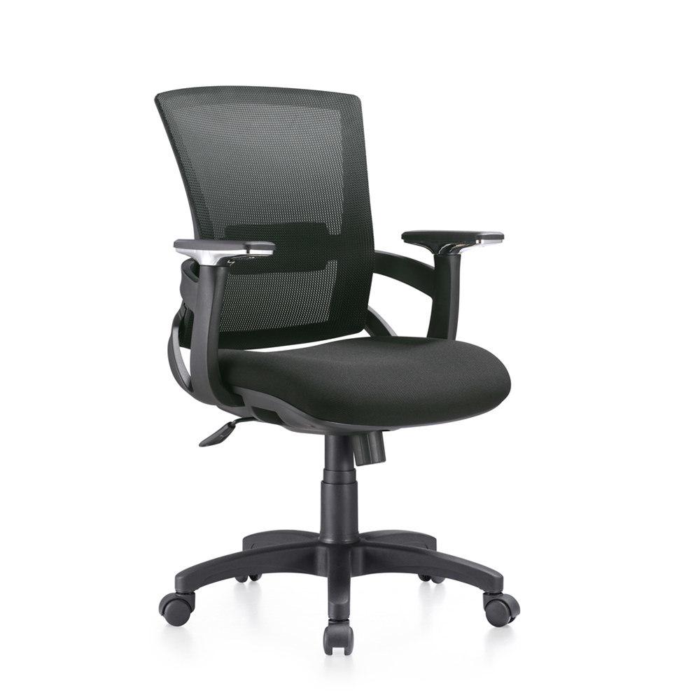 [Hot Item] Factory Unique Design Black Mesh Back Desk Swivel Office Chair