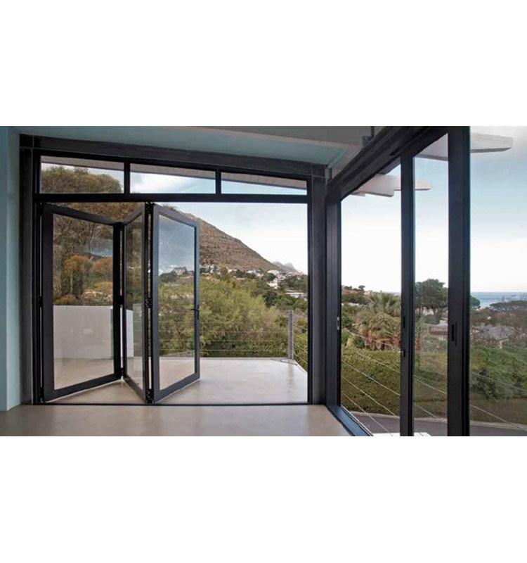 China New Aluminum Bifold Door Design