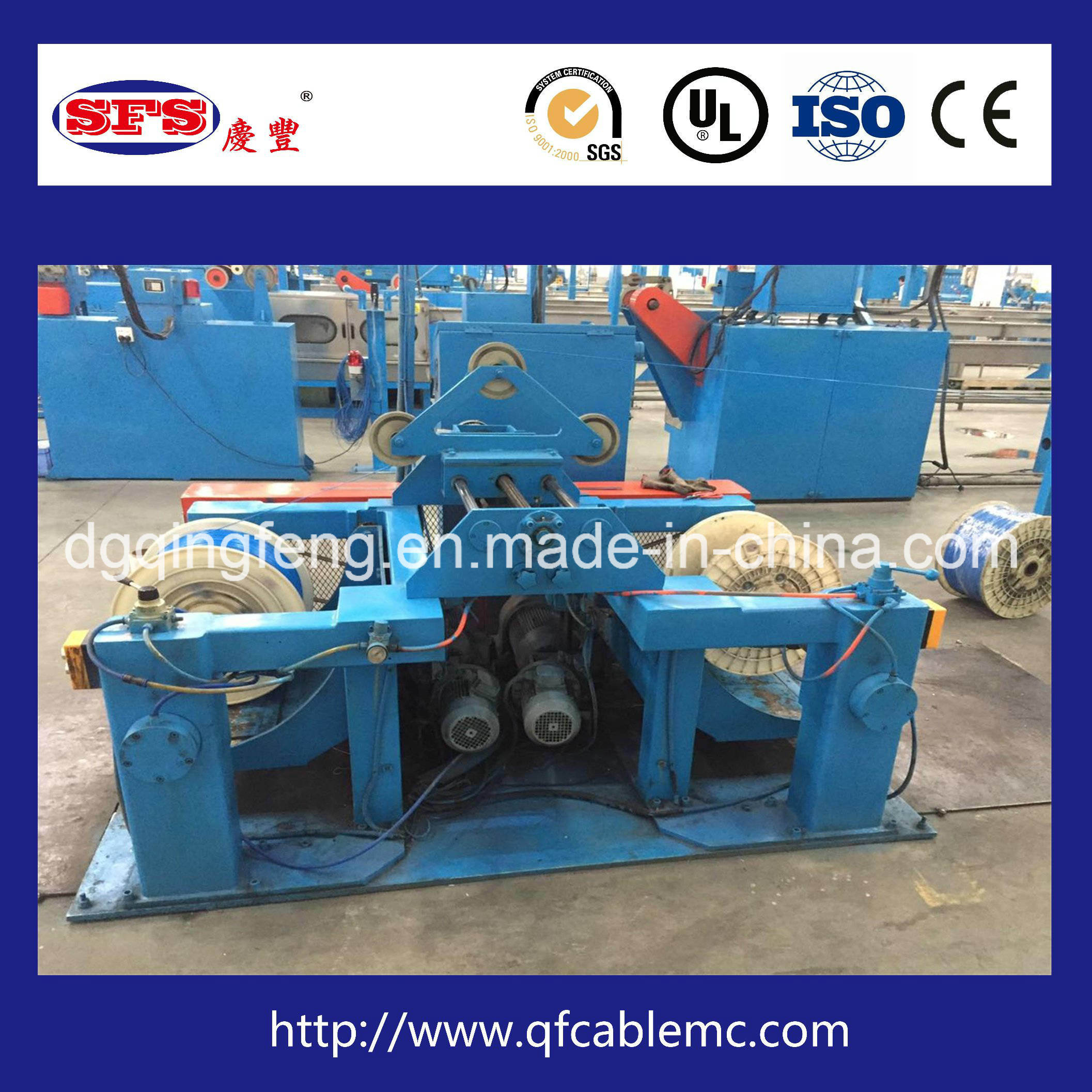 China Extrusion Line Of The Wire Cable And Insulation Sheath Harness Sheathing Qf 90 100 Extruding Extruder