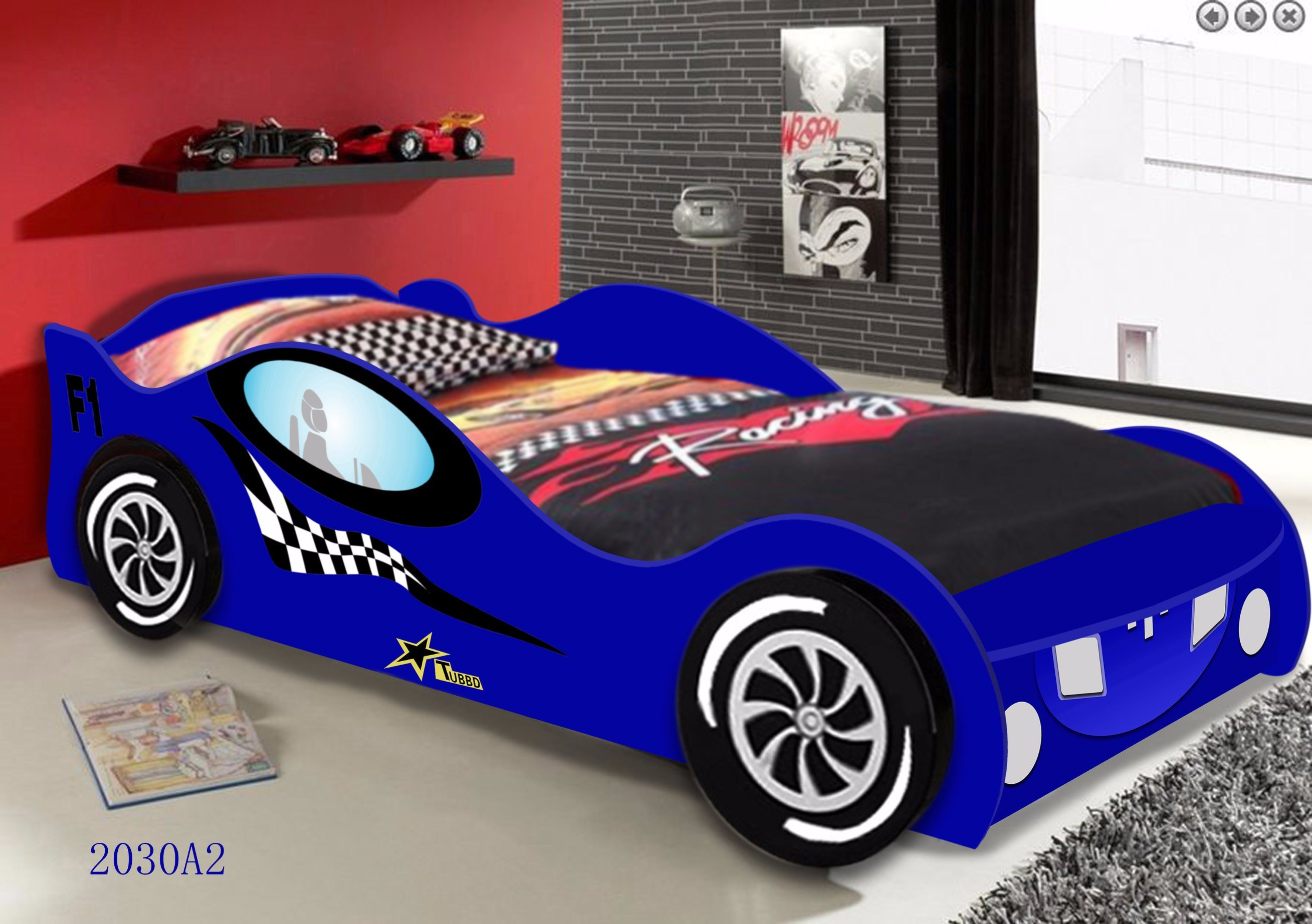 China Children Car Bed For Kids Bedroom Furniture And Kids Or Adult