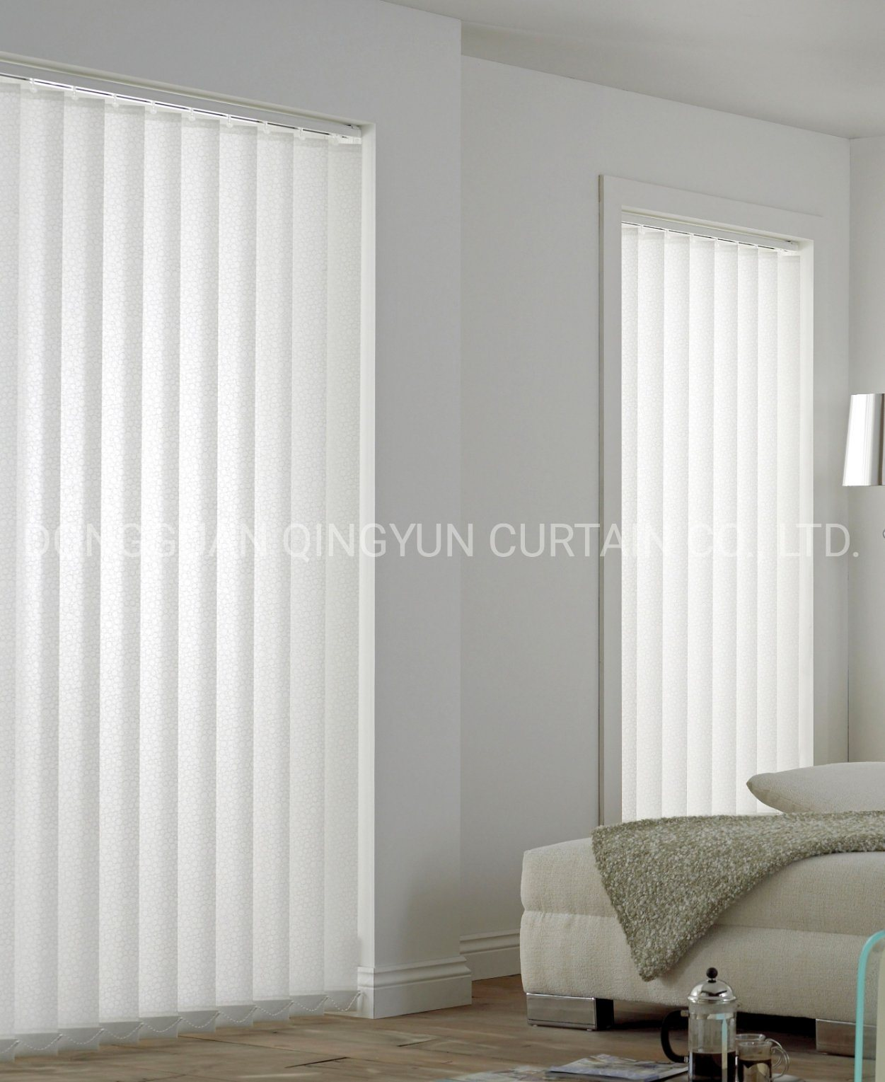 China Interior Decoration 89mm 100 Polyester Fabric Vertical Blind China Vertical Window Blind Fabric Vertical Curtain