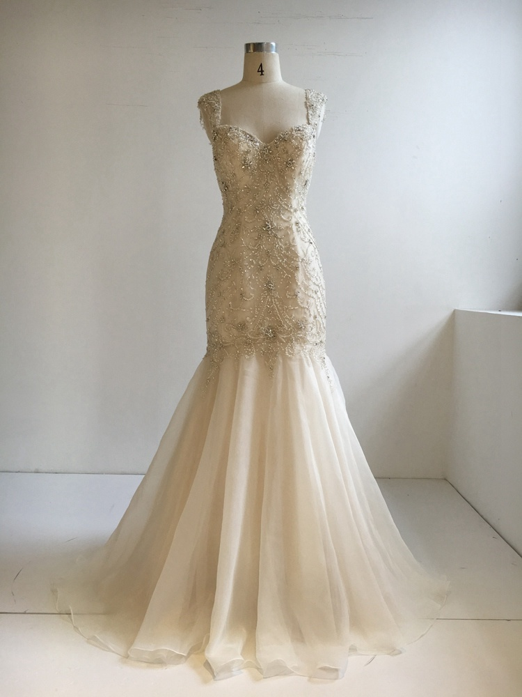 China Hot Sell Good Quality 2018 New Style Bridal Gown Photos ...