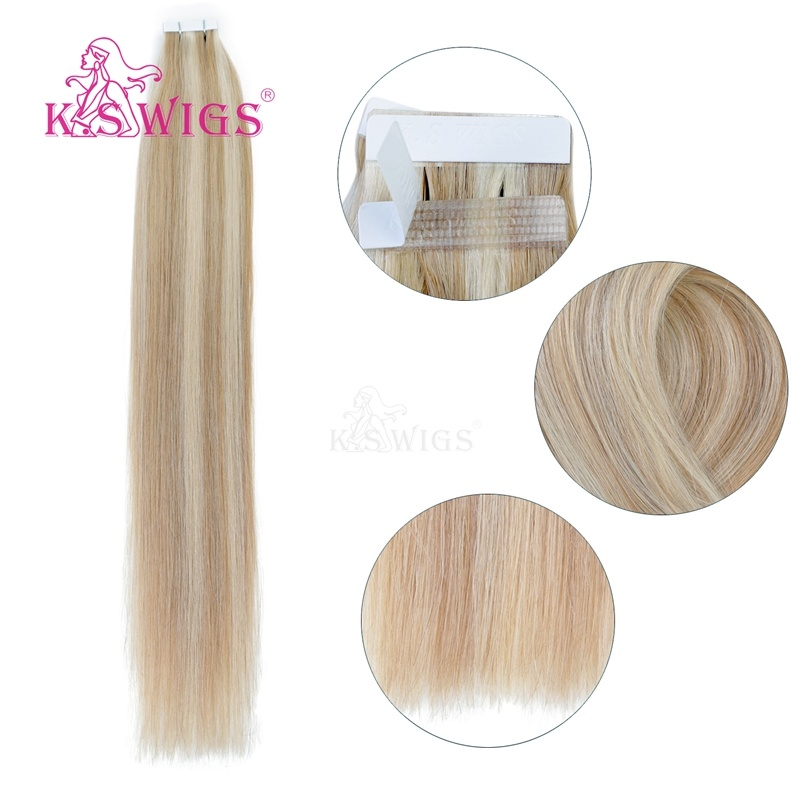 K. S Wigs 2017 New Arrival Best Quality Tape Hair Human Hair Extensions pictures & photos