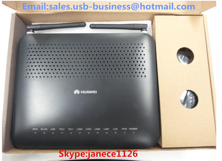 [Hot Item] Huawei Echolife Hg8245 Hg8245A Hg8346r Hg8242 Gpon Huawei  Ont/ONU 2pots + 4ge + 1USB + 1wi-Fi Bridge/Router+Voice Equipment