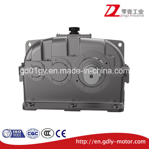 Double Stage Reduce Speed Parallel Shaft Hardened Cylindrical Gear Box pictures & photos