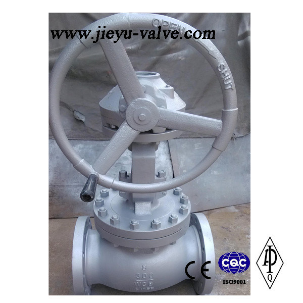 Stainless Steel Flanged Manual Water/Industrial Globe Valve