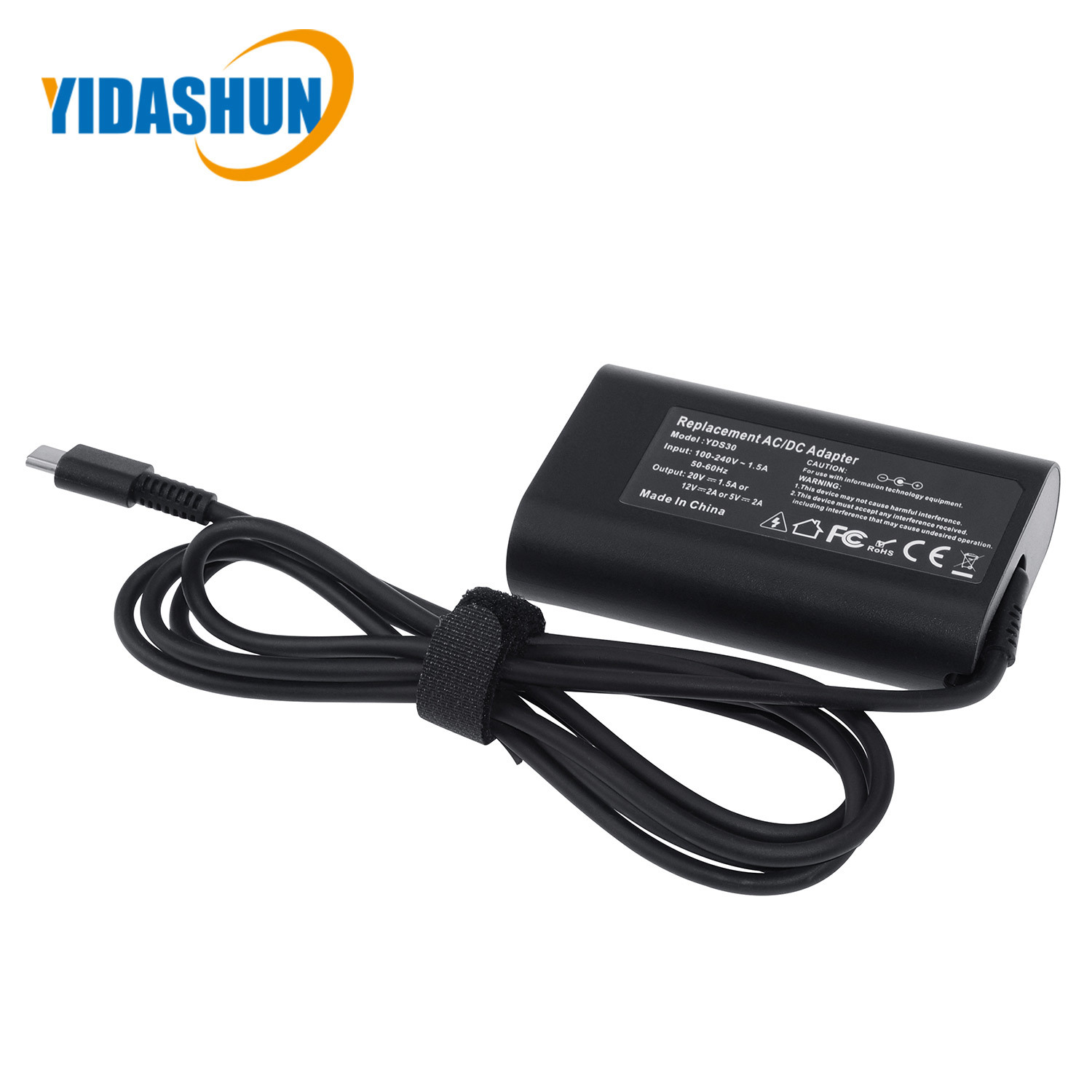 [Hot Item] 30W USB-C Power Adapter Type-C Pd Laptop Charger Adaptor for DELL