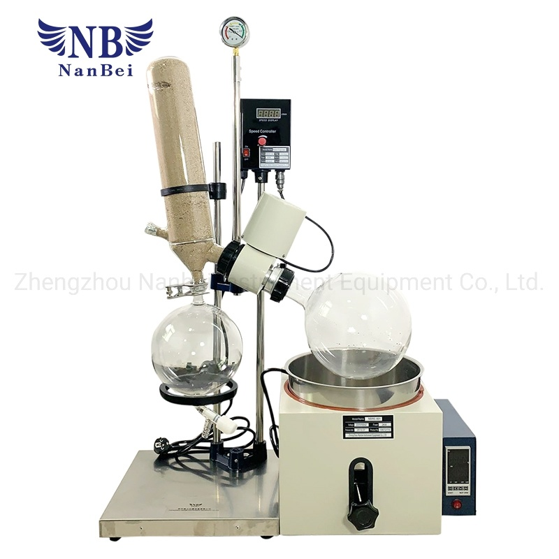Vacuum Rotary Evaporator in The Laboratory