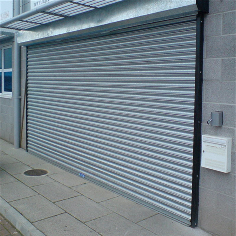 China Directly Factory Steel, Steel Roll Up Garage Doors