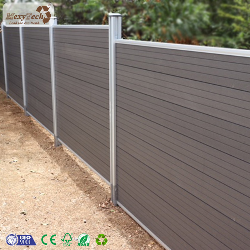 China Aluminum Post Design Wood Plastic Composite Wpc Waterproof