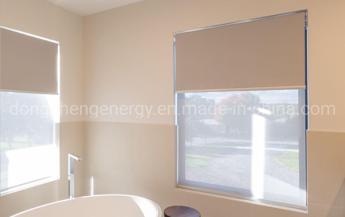 China Indoor Shade Window Blinds With Canvas China Roller Blind Fabric Roller Blind