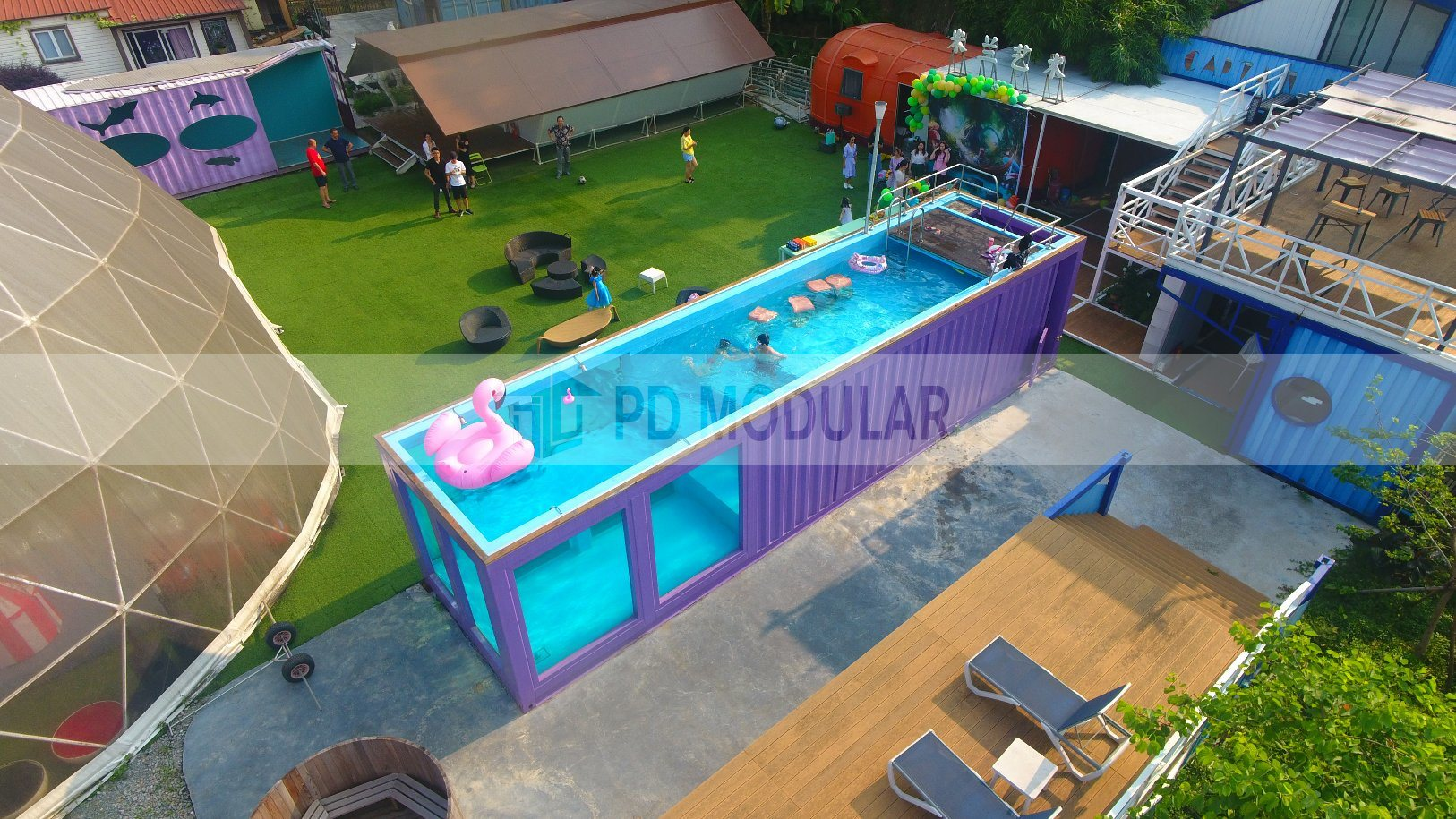 China Prefab Cheap Above Ground Pool Modular Container Pools Swimming China Above Ground Pool And Prefab Container Swimming Pool Price