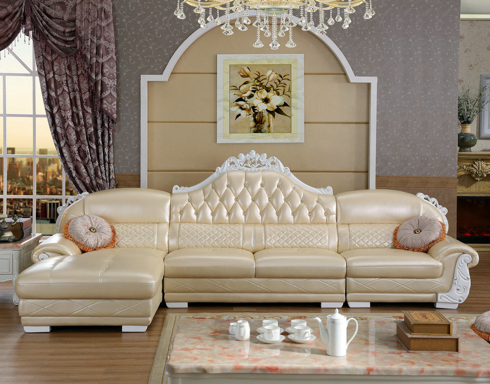 Royal Style Leather Sofa New Clic Home Furniture 6019